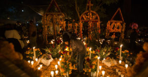 DIA DE MUERTOS: Known as the Day of the Dead, it actually celebrates life