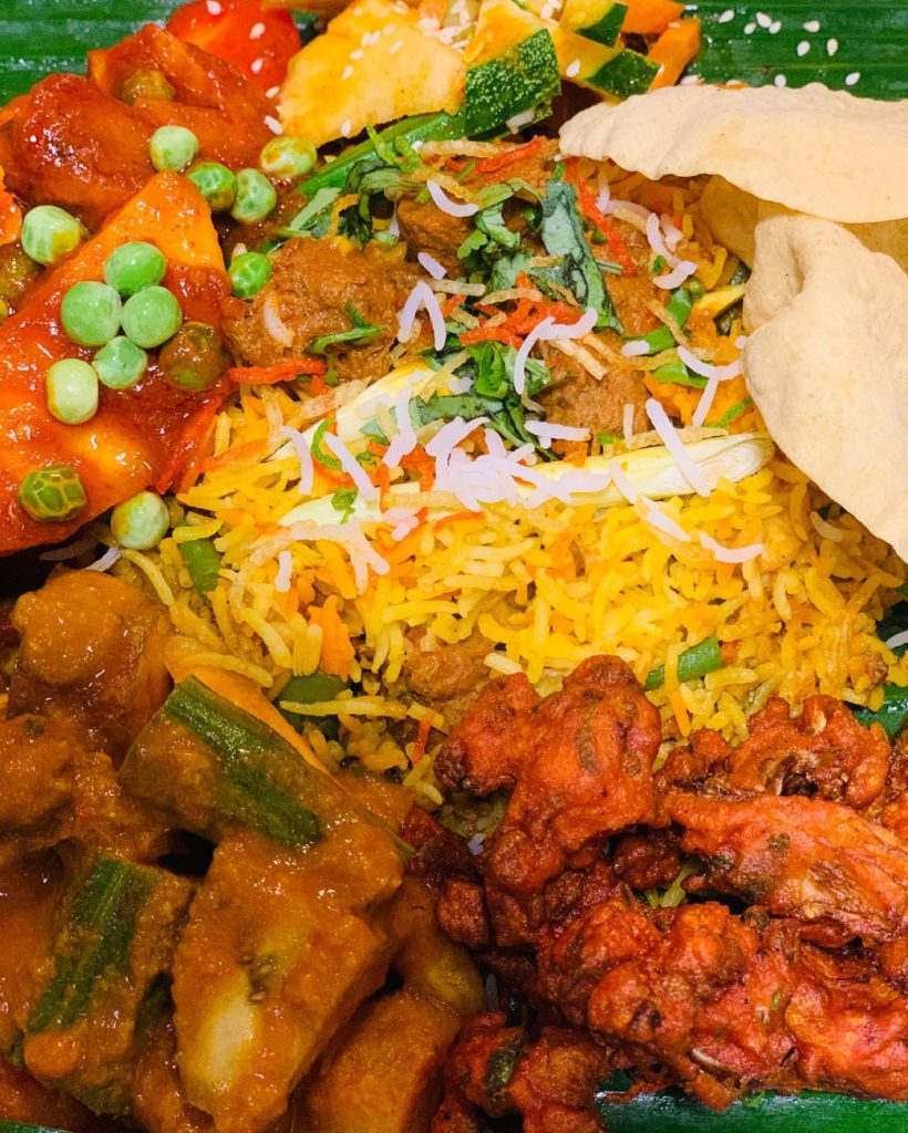 BIRYANI: Pair your meal with a wide range of ala carte dishes