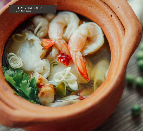 POPULAR DISH: Not forgetting Thai's signature soup, Tom Yum Soup available at Sawadee Thai Cuisine